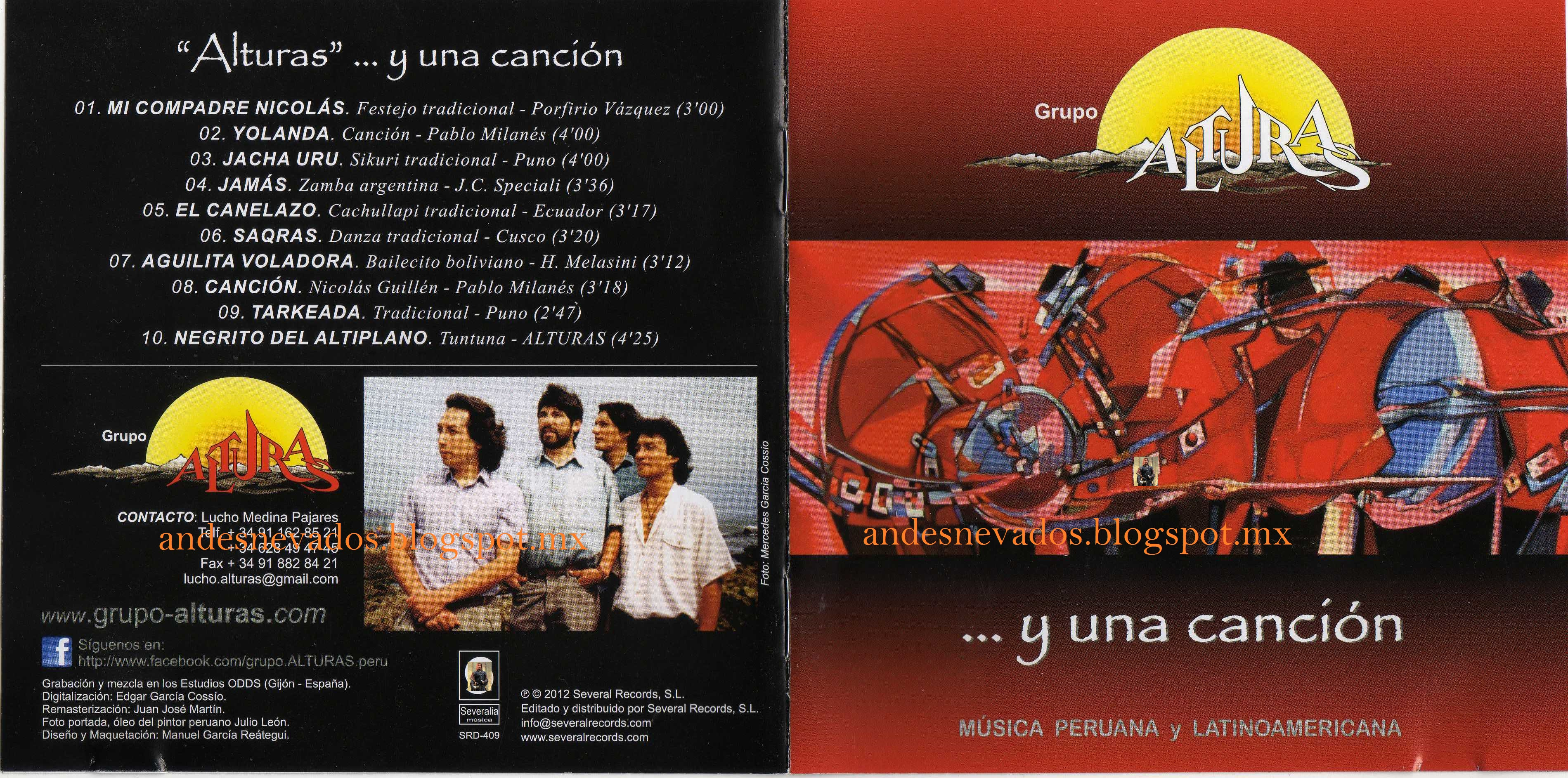 Cd grupo Alturas- y una canciòn Y_una_cancion-front