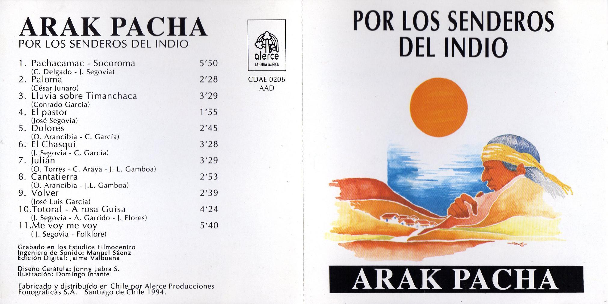 discografia de arak pacha gratis