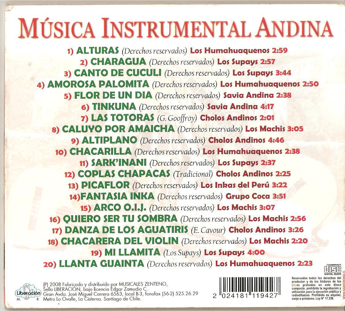 Musical Andina Instrumental Para Escuchar
