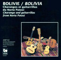 """Bolivia Calendar Music Im The Central Valleys"""
