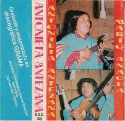 "Antonieta Antezana ""Antonieta Antezana"""