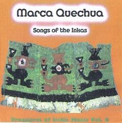 """Marca quechua """"Canciones de los Incas"""""""