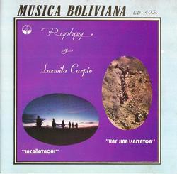 """Ruphay y Luzmila Carpio """"Jacanataqui"""""""