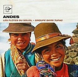 """Sayri Tupac """"Andes Les Flutes Du Soleil"""""""